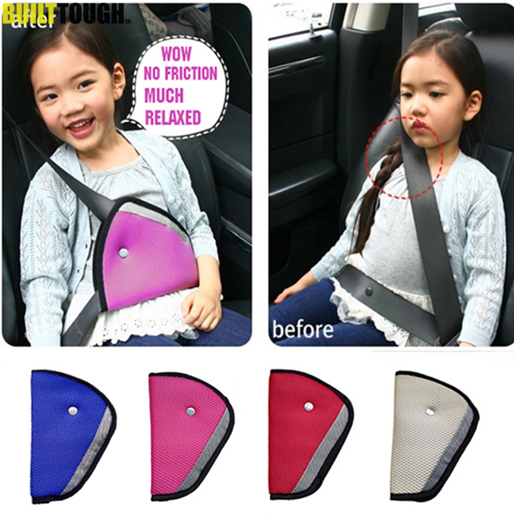 Accessories Child Kids Car Seat Belts Adjuster Protector Safety Triangle Clip
