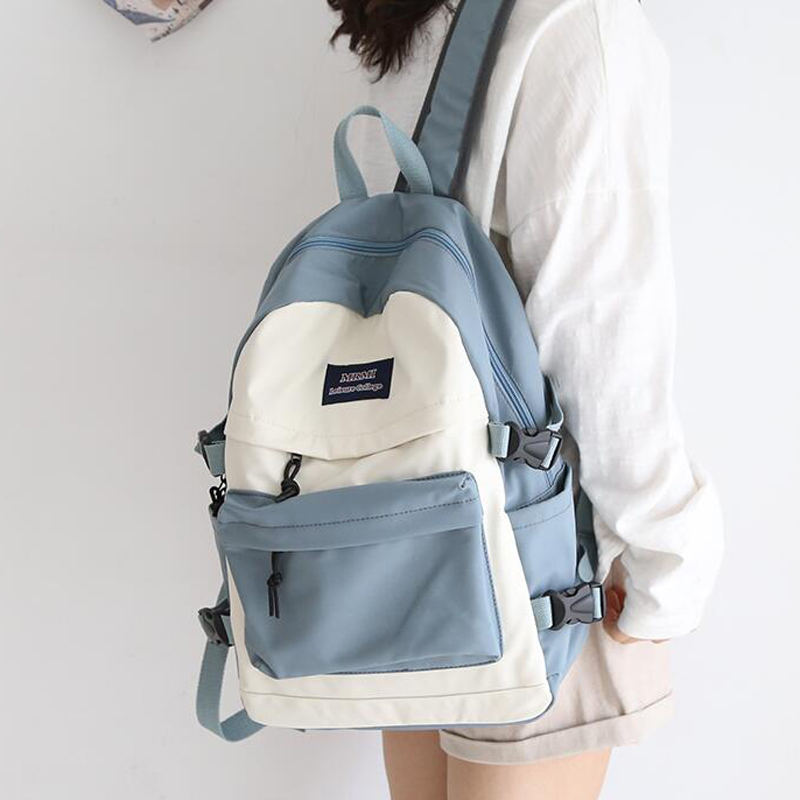 Large Capacity Women Backpack Fashion Schoolbag Backpack For Teenager Girls Female High School College Student Book Bags Female