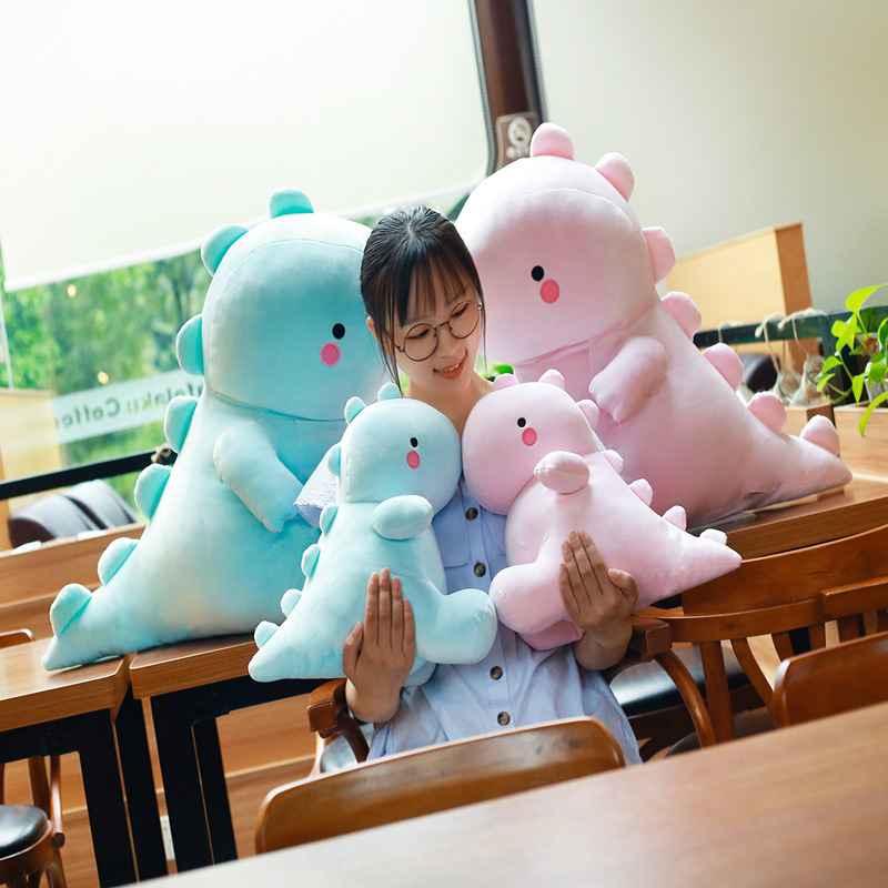 30-60CM Cartoon Dinosaur Pillow Plush Toys Kawaii Stuffed Soft Animal Doll For Children Baby Kids Cartoon Toy Classic Gift