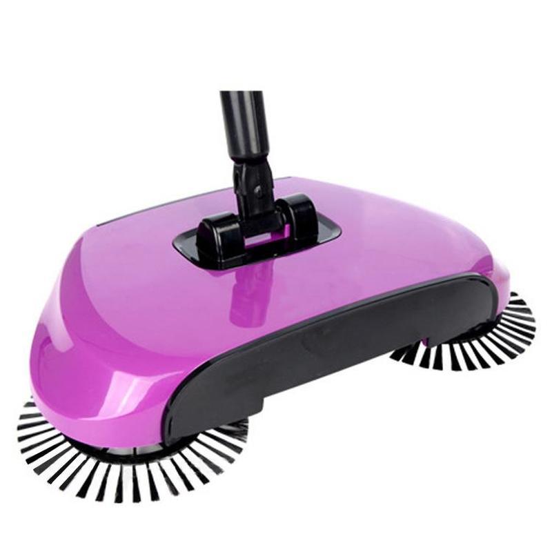 Coletor de pó de vassoura de limpeza manual giratório da mão da vassoura da multi-função da varredura do mop de 360 graus zp3061016