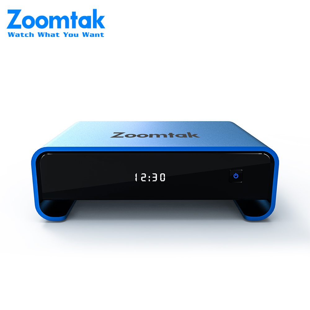 Zoomtak Uplus Android TV Box 4K 2GB DDR3 RAM 16Gb Rom H.265 2,4 /5G WiFi YouTube Set Top Box