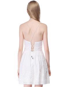 Image 5 - שושבינה שמלות 2020 לבן קצר תחרה קו שיבה הביתה מפלגה לנשף שמלות רעיוני נצנצים שמלות נשף בתוספת גודל