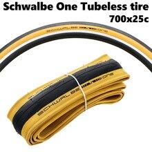 Шина Schwalbe PRO One TLE дорожная складная, легкая в использовании шина для бескамерных покрышек 700x25c, 28 дюймов, 1 пара