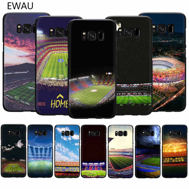 Ewau Barcelona Spanyol Estadio Camp Lembut Tpu Ponsel Cover Case untuk Samsung Galaxy S6 S7 Edge S8 S9 S10 PLUS catatan 10 8 9 M10 20 30