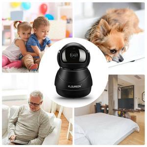 Image 4 - Caméra de surveillance IP Wifi HD 1080P, dispositif de sécurité domestique sans fil, avec codec H.264, 2.0 mégapixels, pour babyphone vidéo infrarouge