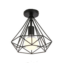 LED Ceiling Light Modern Ceiling Lamp Nordic Lighting Cage Fixture Home Living Room Lighting And Decoration