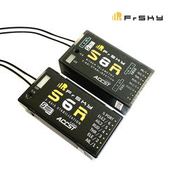 Frsky STK S6R 6CH/ S8R 8CH 2.4G 6CH ACCST Receiver with 3-Axis Stabilization and Smart Port Telemetry for RC Airplane