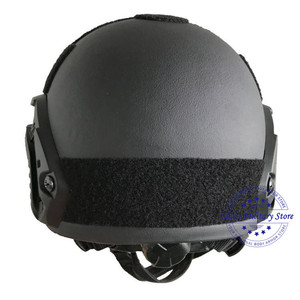Image 5 - NIJ IIIA Aramid Military FAST Ballistic Combat Helmet US Standard For Police Guard Safety Protection Training