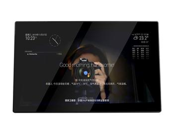 13.3inch Magic Mirror, EU version,Voice Assistant, Touch Control, Raspberry Pi 3A+ Inside