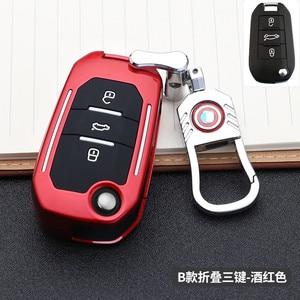 Image 4 - حافظة مفاتيح السيارة مع 3 أزرار لبيجو 107 ، 308sw 407 ، 208 ، 508 ، 408 ، 2018 ، سيتروين C4 ، كاكتوس ، C5 ، C4L ، الملحقات