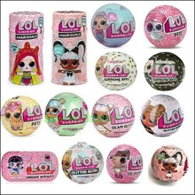 Hot sale Winter Disco Big L.O.L. Surprise Sister Models LOLS Doll Blind Box Toys for Children Diy Kids Girls Christmas Gift