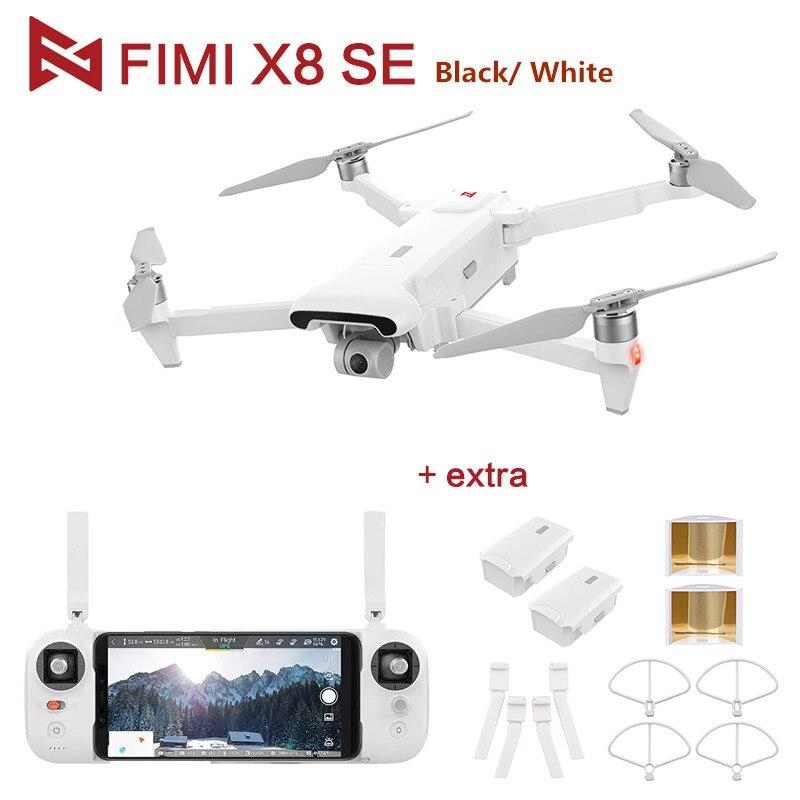 Drone d'origine FIMI X8 SE avec caméra 4K HD 5KM FPV 33 minutes de vol RTF pièces d'atterrissage cadeaux