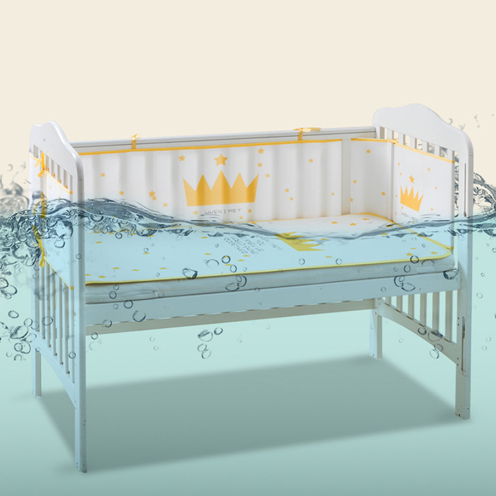 3D Sandwich Mesh Breathable Crib Enclosures Baby Collision-proof Bed Enclosure Newborn Bumper Protection Supplies Hot Sell