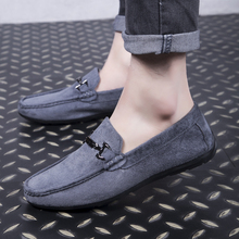High Quality Men Shoes Soft Moccasins Loafers Fashion Brand