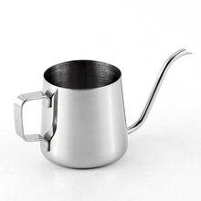 250 мл чайник из нержавеющей стали заварник для чая кофе Длинный Носик чайник кухонная принадлежность для чая Капельное