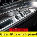Для Ford Explorer 2016-2019 панель переключателя подъема стекла хромированная формовочная отделка 4 шт
