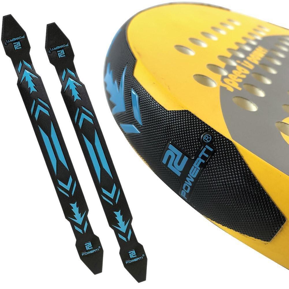 2 шт., 3d-лента для защиты теннисных ракеток, 3,8 см * 40 см * 0,1 см
