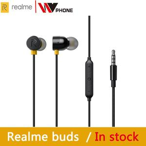 Image 1 - OPPO realme buds 2 earphone Built in Magnes 11.2mm Bass Boost Driver Dual Tangle Free Design for realme x x2 x2 pro 3
