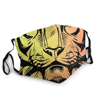 Free Joe Exotic Tiger King Animal Reusable Face Mask Documentary Anti Haze Dustproof Protection Cover Respirator Mouth Muffle image