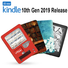 все цены на Case for Amazon All-New Kindle (2019 Release) Lightweight PU Leather Smart Cover Shell for Amazon Kindle 10th Gen E-Reader