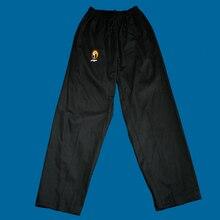 Детская хлопок штаны для тхэквондо для взрослых Одежда для тхэквондо белые черные брюки Для мужчин Для женщин тхэквондо тренировочные брюки кунг-фу