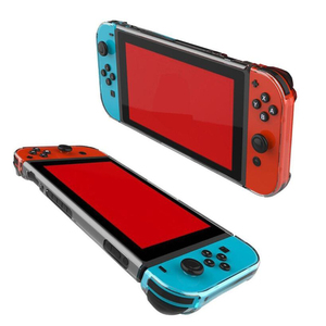 Image 5 - Crystal Transparent Clear PC Hard Case Protective Cover Shell for Nintend Switch Console Joy Con Controller Full Body Protector