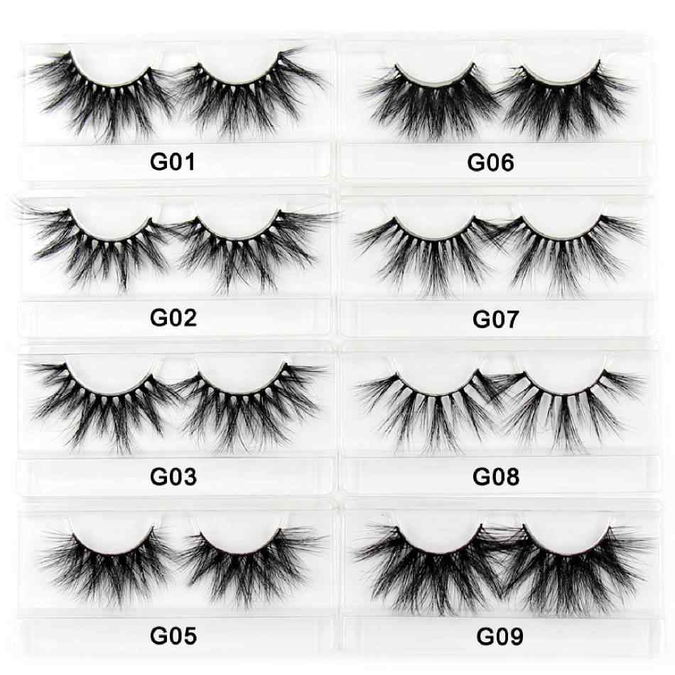 Amaolash 25Mm Wimpers 5D Nerts Wimpers Dikke Kriskras Valse Wimpers Pluizige Dramatische Wimpers Make Soft Lashes 38 Stijlen