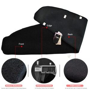 Image 3 - Xukey Für Tesla Model3 Modell 3 2017   2020 Dashmat Dashboard Abdeckung Dash Matte Pad Sonne Schatten Dash Board Abdeckung teppich 2018 2019