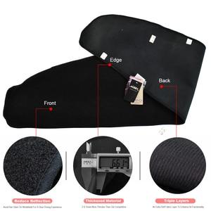 Image 3 - Xukey For Tesla Model3 Model 3 2017   2020 Dashmat Dashboard Cover Dash Mat Pad Sun Shade Dash Board Cover Carpet 2018 2019