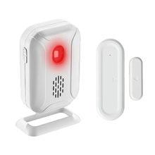 918ft/280m janela da porta de segurança sensor magnético alarme detector de entrada aberta dividir bem vindo sino para loja casa