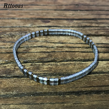 Rttooas Fashion Seaside Beach Bracelet Women Simple MIYUKI TILA Bead Handmade Jewelry Accessories