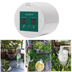 33pcs Automatic Watering Device Auto Indoor Garden Pump Controller Drip Irrigation Potted Plant Timer for Greenhouse