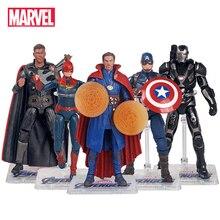 Genuine the Avengers Endgame Super Heroes Doctor Strange Captain America Thor Action Figure Model Dolls Toys Kids Xmas Gift