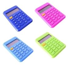 Portable Mini Calculator Pocket Calculator Student Electronic Calculator Candy Color Calculating Office Supplies Random Color