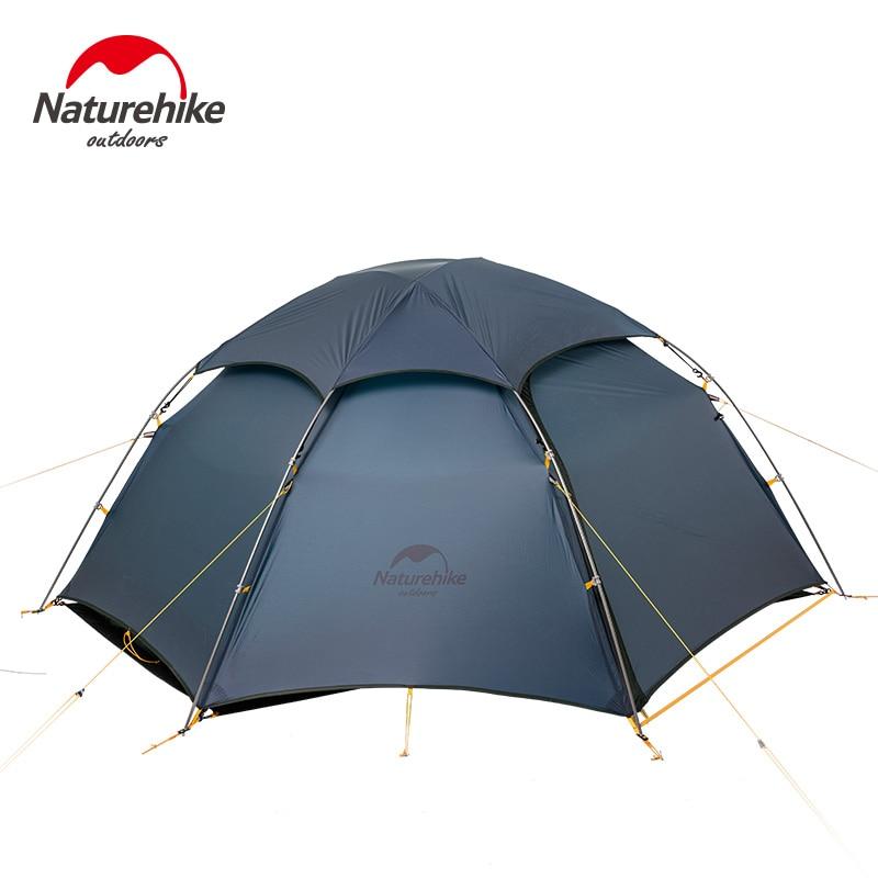 NatureHike Tenda Nuvem Pico Barraca de Acampamento Pólo Liga de Titânio Ultraleve 20D Silicone 4 Estações Caminhadas Tenda Ao Ar Livre Tenda Turista
