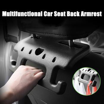 Wyprzedaż praktyczny podłokietnik zagłówek bezpieczeństwo kierownica uchwyt na fotel samochodowy hak Auto hak akcesoria samochodowe hurtownia szybka dostawa CSV