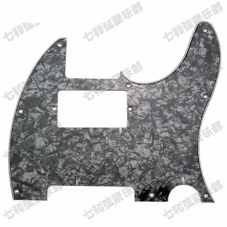 От Black Pearl, 3 слоя Электрогитары накладку Анти-Царапины плиты с двойной катушкой пикап