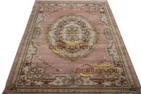 rose carpet wool french carpet About machine made Thick Plush Savonnerie Rug  137X198cm 4.5'X6.5' |Carpet|   -