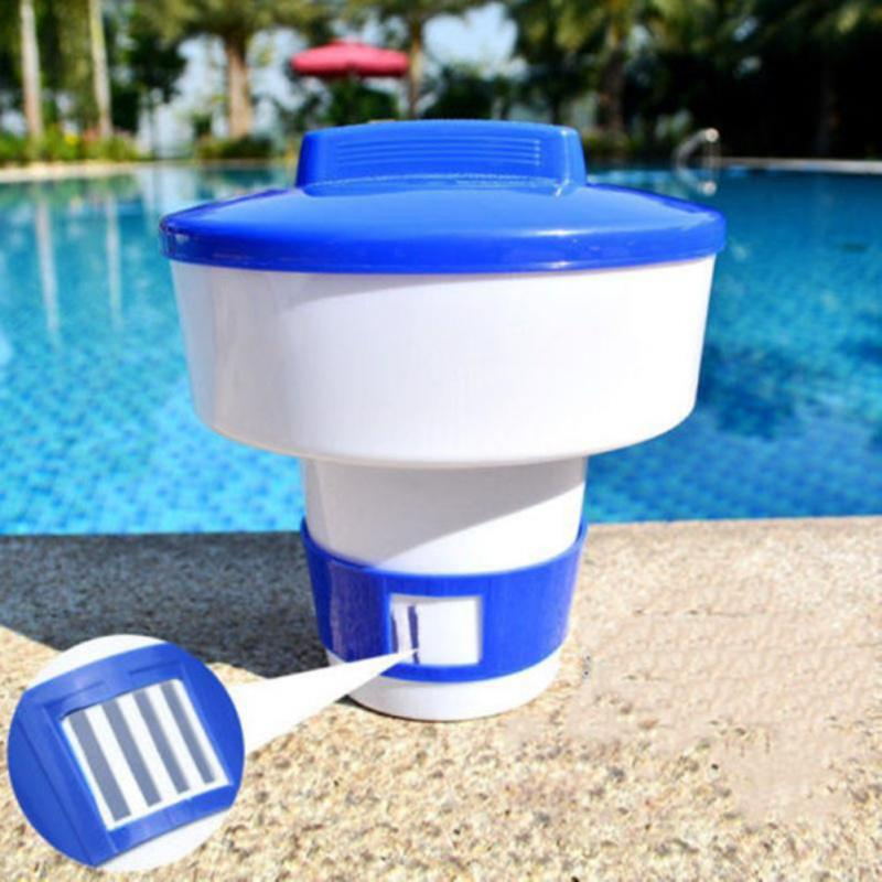 5//8/'/' Floater Chlorine Swimming Pool Spa Dispenser Cleaner Tab with Thermometer