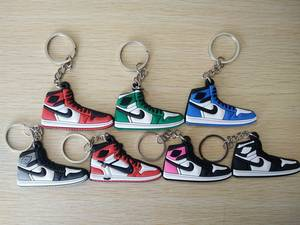Hanger Pendant Keychain Keyrings Car-Bag-Accessories Rubber-Shoes Simulation Ship-Random