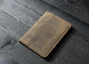 Image 5 - Japão lâmina de aço morrer cortador modelo de couro passaporte carteira presente para o homem passaporte titular punch ferramenta mão corte faca molde