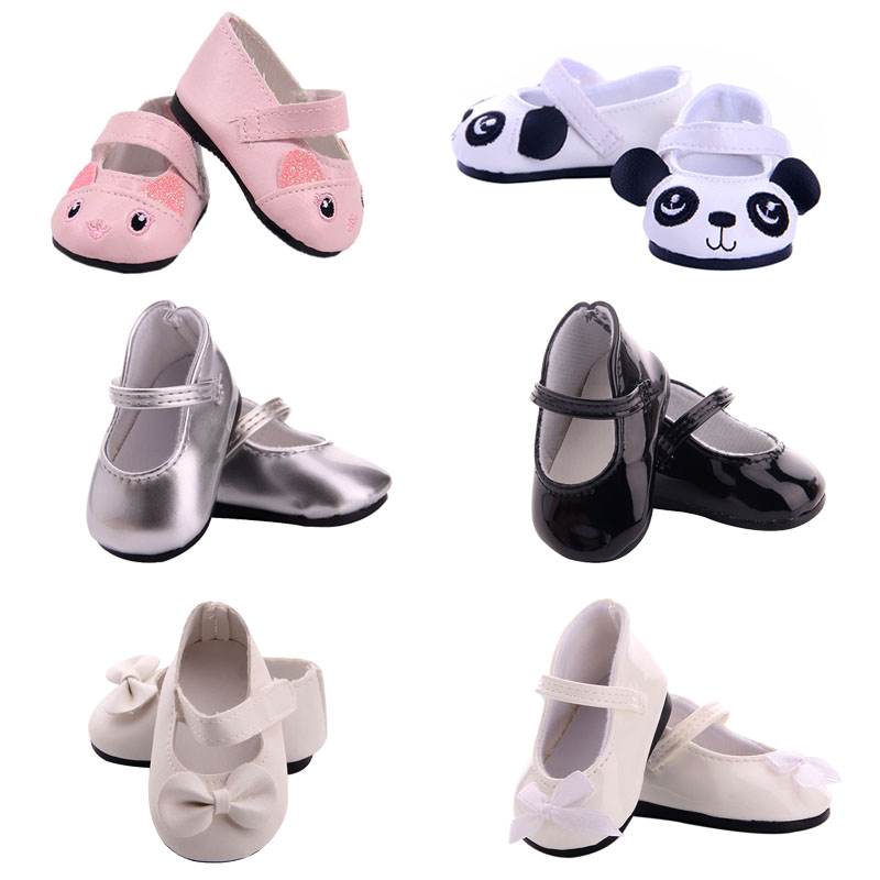 14 Styles Fashion Shoes Doll Clothes Accessories For 18 Inch American Doll&43Cm Born Baby, Generation, Birthday Girl's Toy Gifts