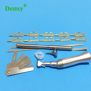 Image 5 - Denxy 1box Dental Orthodontic Interproximal enamel reduction Reciprocating IPR System Stripping Contra Angle Orthodontic tool