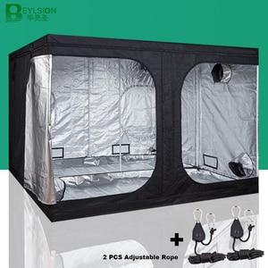 Image 1 - BEYLSION 600D Crescere Tenda Crescere Box Crescere Tenda Interna Coltura Idroponica Tenda Crescere Le Piante In Camera Tenda Per La Coltivazione di Piante Serra + kit corda