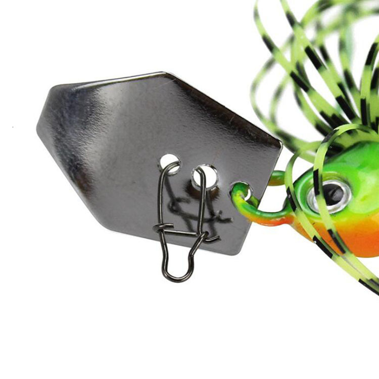 2020 Chatterbait Fishing Lures Weights10-14g Fishing Tackle Spinnerbait Fishing Accessories Isca Artificial Buzz Fish Bait Pesca-4