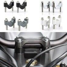 """22Mm 7/8 """"Tay Cầm Risers CNC Phôi Cho Xe Honda CB500F CB650F CB600F Hornet 599 CB900F Hornet 900 CB250F Hornet250 CB300F CB400"""