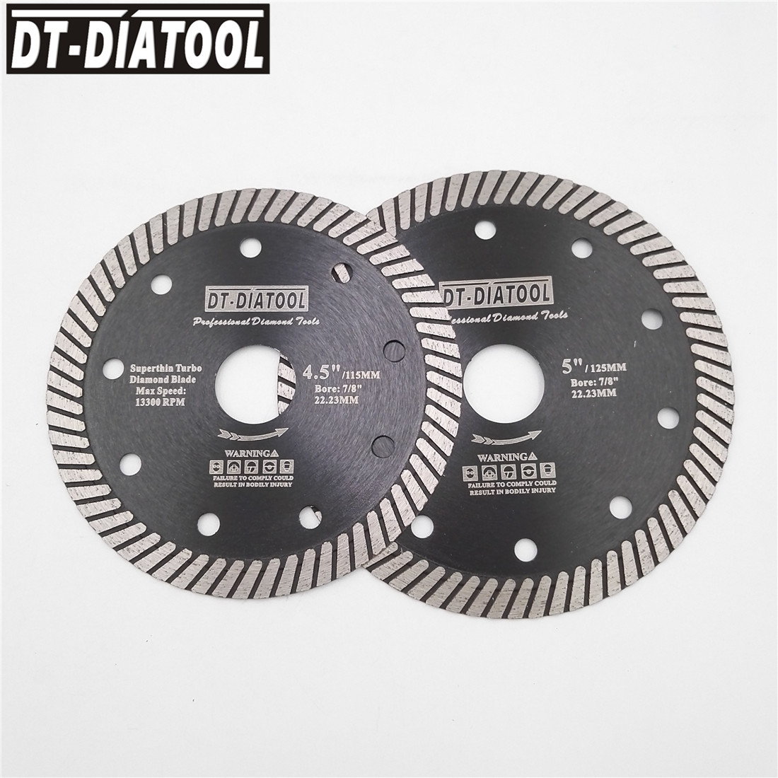 DT-DIATOOL 2pcs Dia 115mm/4.5