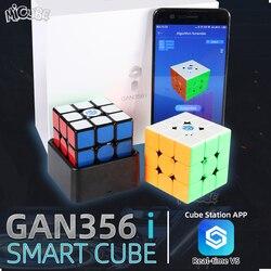 GAN356 i Магнитный магический скоростной куб 3x3x3 GAN356i куб станция приложение GAN 356i магниты онлайн соревнования кубики GAN 356