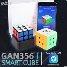 Gan356 i 마그네틱 매직 스피드 큐브 3x3x3 gan356i 큐브 스테이션 app gan 356i 자석 온라인 경쟁 큐브 gan 356