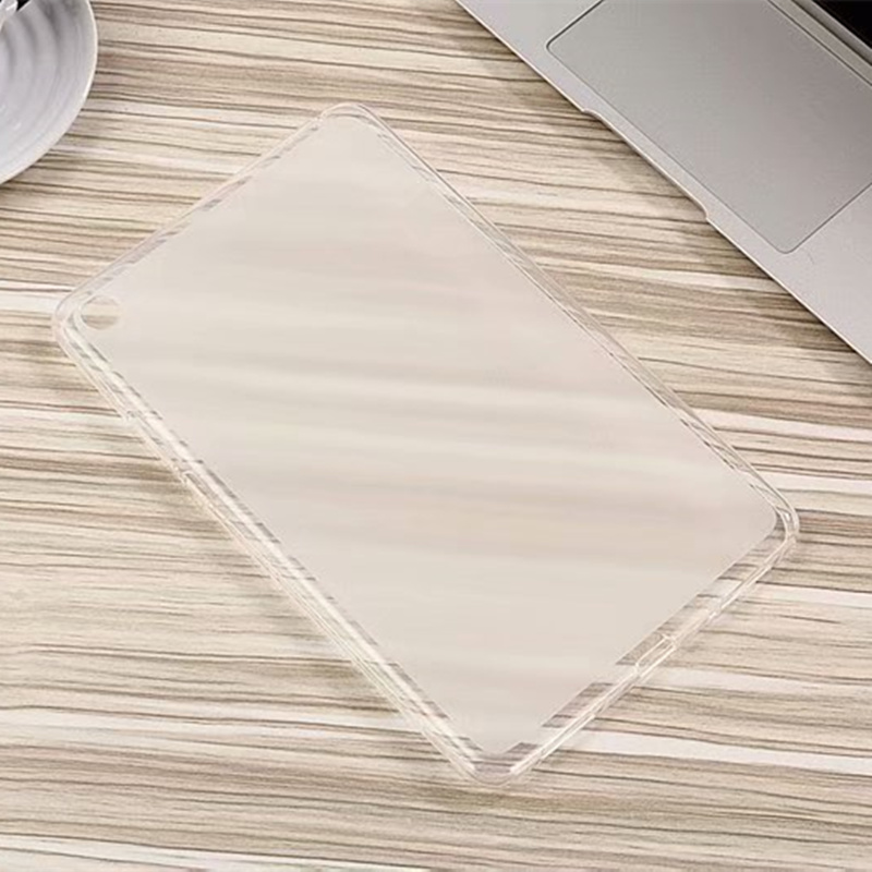 Transparent Scrub soft TPU Silicon Back Protection Cover case For Xiaomi <font><b>1</b></font> 2 3 <font><b>4</b></font> 4plus 10inch image